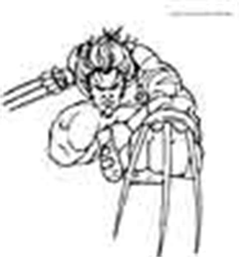 X Men Coloring Pages Free Printable Coloring Sheets For Kids Color Your Own Wolverine