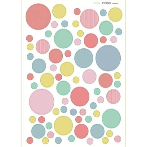 wandtattoo kinderzimmer pastellfarben wandgestaltung im kinderzimmer mit wandtattoo konfetti pastell