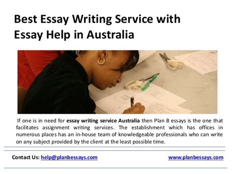 Best Essay Writing Services by Best Essay Writing Service With Essay Help In Australia