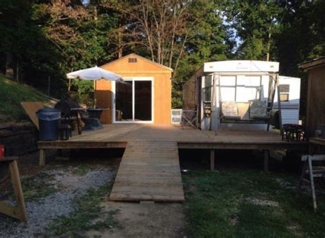Converting A Storage Shed Into A Home by 384 Sq Ft Shed Converted Into Tiny Home For 11k
