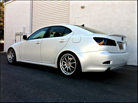 lexus white pearl paint code fresh from the booth lexus is350 in satin white pearl
