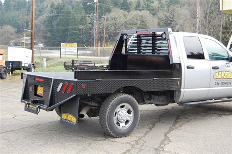 aftermarket truck beds custom flatbeds for pickup trucks great northern trailers