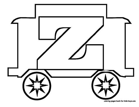 abc train coloring page toy train learning letters free alphabet coloring