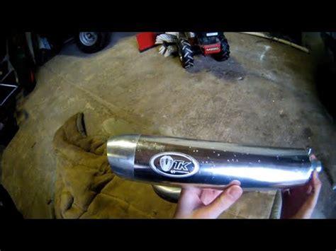 Auspuff Montage Motorrad by Kymco Mxu 50 Montage Turbokit Auspuff Sound Tuning