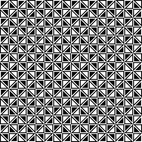 seamless pattern monochrome seamless monochrome triangle pattern design stock vector
