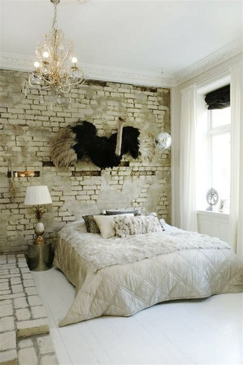 Brick Bedroom Wall by 65 Impressive Bedrooms With Brick Walls Digsdigs