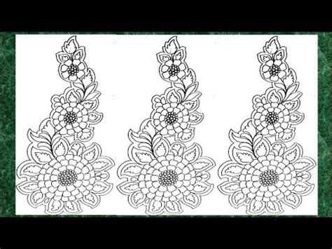 Drawings 8 Embroidery Software by How To Draw Embroidery Design On Tracing Paper Lead Pencil