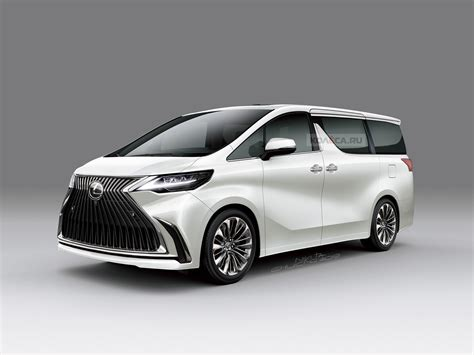 2019 Lexus Minivan by минивэн Lexus первые изображения драйв77 рф