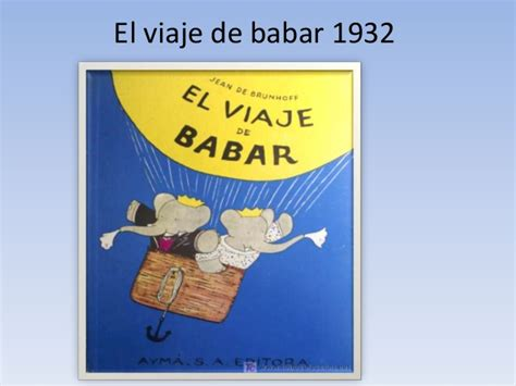 el viaje de babar 8497437152 1900 1945