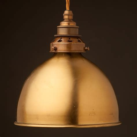 Dome Pendant Light Brass Dome Light Shade Pendant