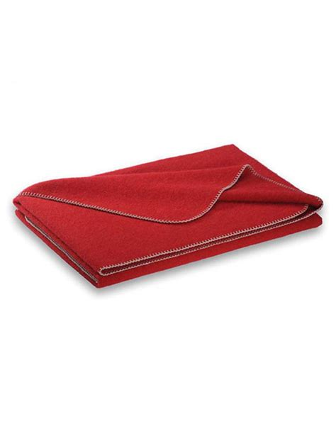wolldecke rot steiner 1888 wolldecke quot alina quot 150x190cm rot