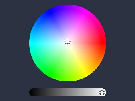 sleek html5 / javascript color picker iro.js | css script