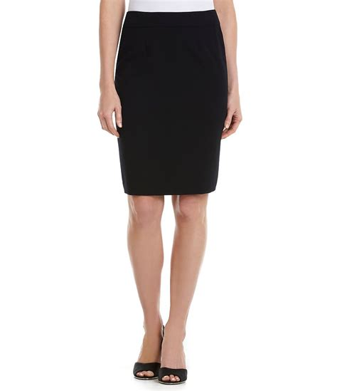 calvin klein luxe stretch suiting contrast trim zip front