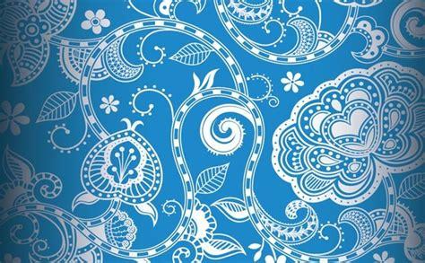 vintage pattern cdr pastel floral vintage pattern background free vector