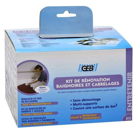 Email A Froid Baignoire by Kit De R 233 Novation Pour Salle De Bains Blanc Geb Leroy Merlin