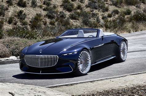 Maybach Concept Car by Electric Mercedes Maybach 6 Cabriolet Concept Car Revealed