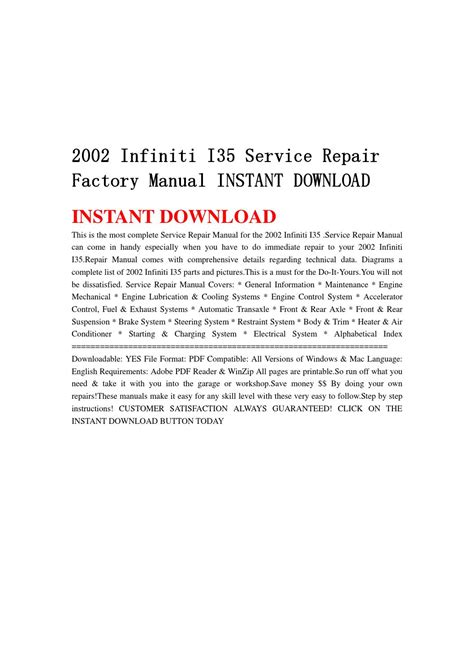 free service manuals online 1997 infiniti i on board diagnostic system service manual 2002 infiniti i free online manual service manual 2002 infiniti i fuse manual