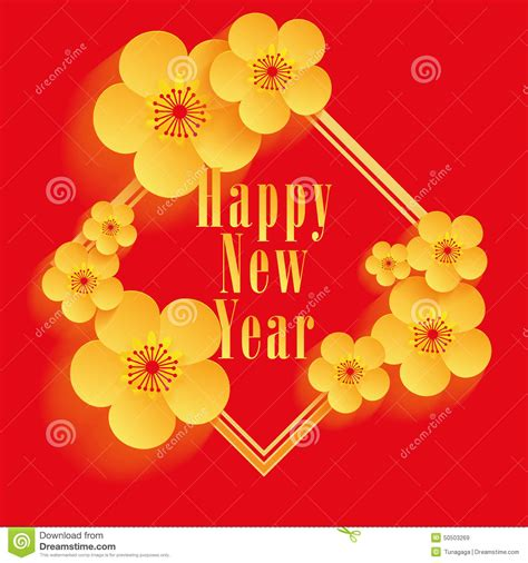 design free new year card chinese new year greeting card design stock vector