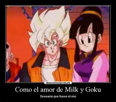 imagenes de goku y milk imagenes de dragon ball de amor goku y milk buscar con