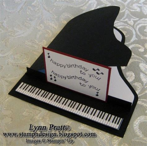 Handmade Piano - 17 best images about birthday cards theme on