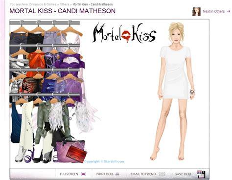 Denisa Dress Ori Mw just like stardoll new mortal dolls