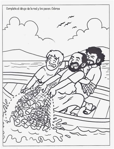 Dibujos Para Colorear De La Pesca Milagrosa | me aburre la religi 211 n la pesca milagrosa