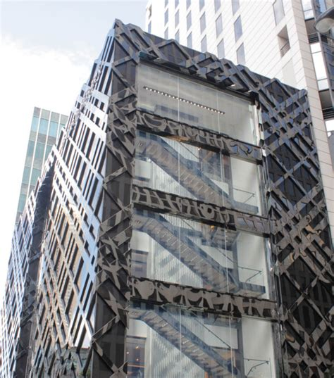 curtain wall design and consulting burberry chicago flagship heintges