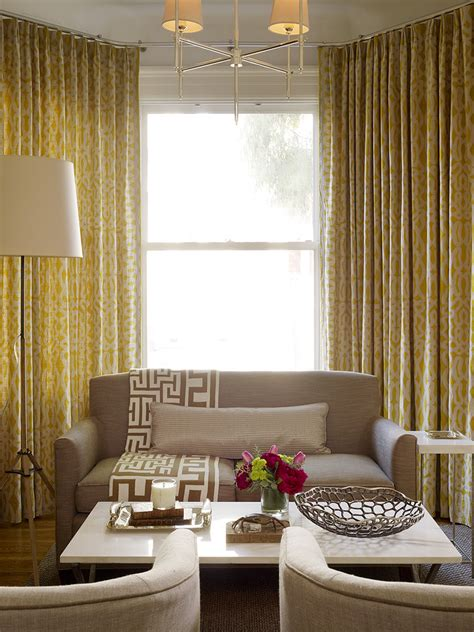 Living Room With Yellow Curtains Safety Turn Your Home S Security Up A Notch With