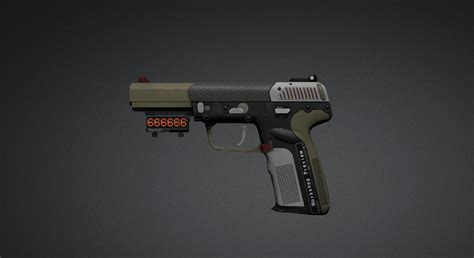 Go Five Black by Five Seven Counter Strike Global Offensive Skin Mods