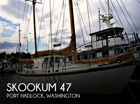 tow boat us port hadlock 1975 skookum 47 tradewinds justsailboats