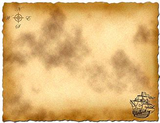 blank pirate map template treasure map template