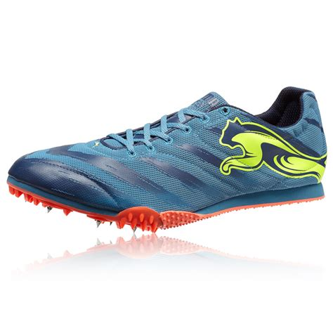 sports spike shoes tfx v2 mens blue running athletics track field