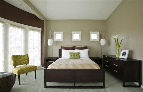green accent wall bedroom decorating with green 52 modern interiors to accentuate
