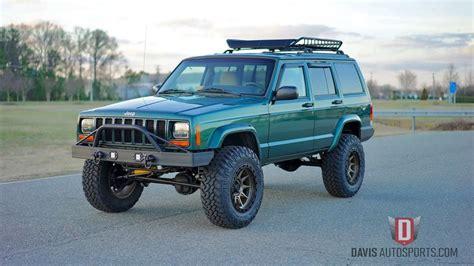 jeep xj for sale davis autosports jeep xj restored built all