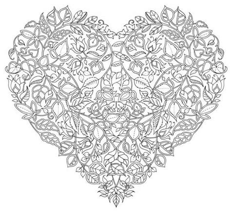 printable coloring pages hearts with vines hearts with vines pages coloring pages