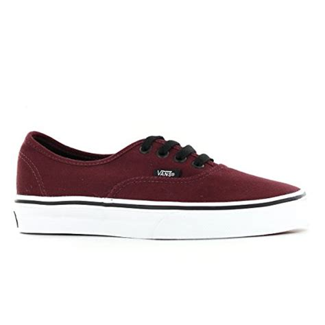 Vans Authentic Classic Maroon vans classic authentic burgundy womens trainers size 8 5