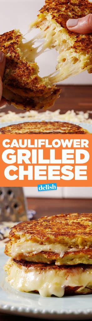 cauliflower grilled cheese best cauliflower grilled cheese how to make cauliflower