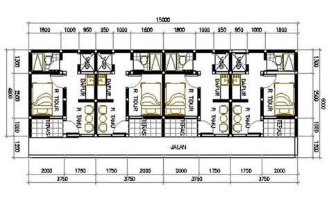 desain rumah kontrakan 89 best kos2an images on pinterest