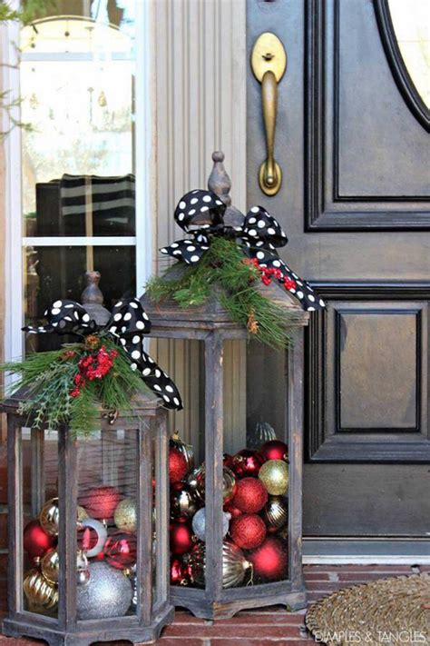 christmas decor in the home 60 of the best diy christmas decorations kitchen fun