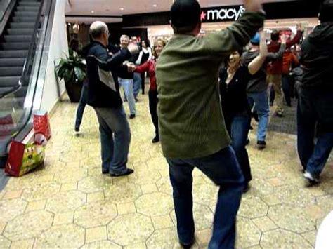west coast swing flash mob west coast swing flash mob at west farms mall in ct dec