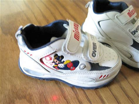 Mickey Mouse Light Up Shoes by Imempathic