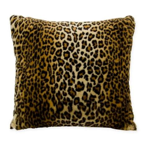Faux Pillow by Buy Faux Fur Pillows From Bed Bath Beyond
