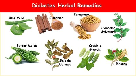 8 diabetes herbs lower blood sugar a1c