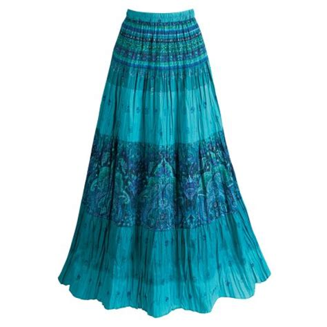 s peasant skirt tiered broomstick style in