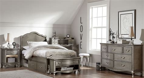 kensington bedroom set kensington antique silver charlotte youth panel bedroom