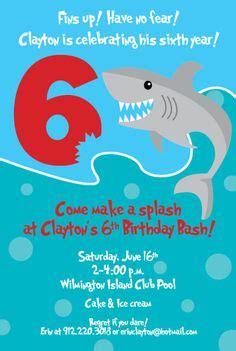 Birthday Invitation Templates Shark Birthday Invitations Easytygermke Com Invitation Templates Shark Birthday Invitation Template