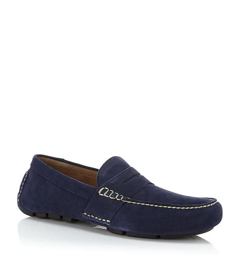 polo ralph loafers polo ralph telly loafer in blue for lyst