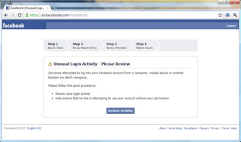 fb kena spam tips menghindari akun facebook roadblock rt cisawung