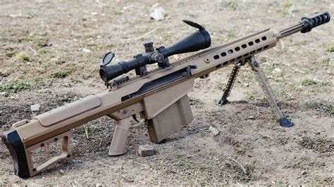 Barret 50 Bmg by Surya Malam Barrett M82 Anti Material Rifle United States