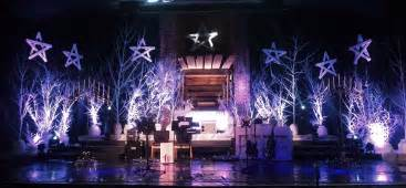 Stage Christmas Decorations Manger In The Brush Church Stage Design Ideas